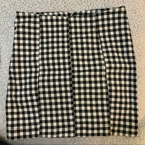 Black and white free people skirt 6